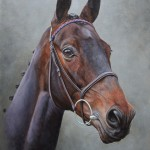 Sprinter Sacre. Oil on panel